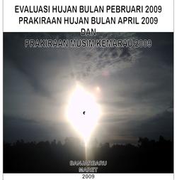 Sampul Buletin terbitan Maret 2009